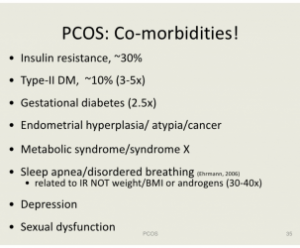 PCOS as a metabolic disorder