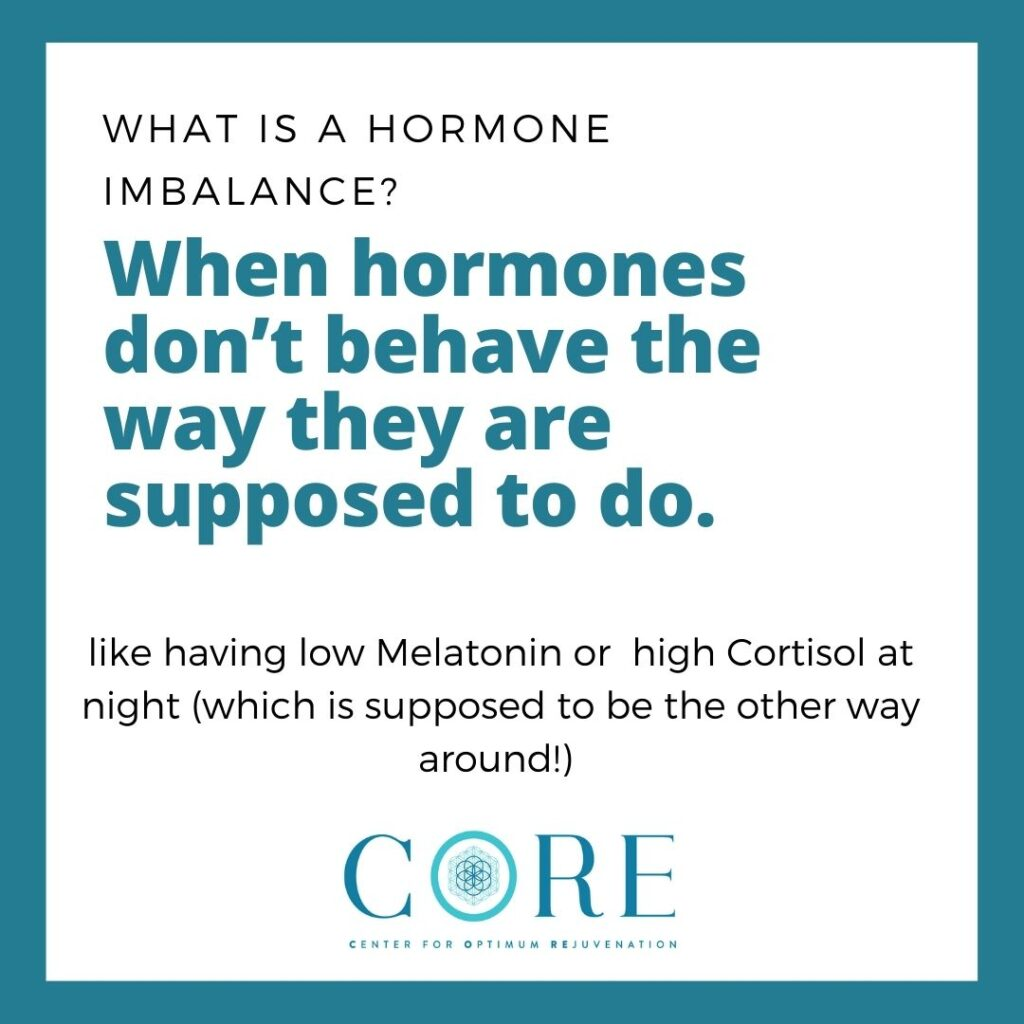 hormones not behaving the way