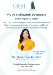 Your Health and Hormones Webinar